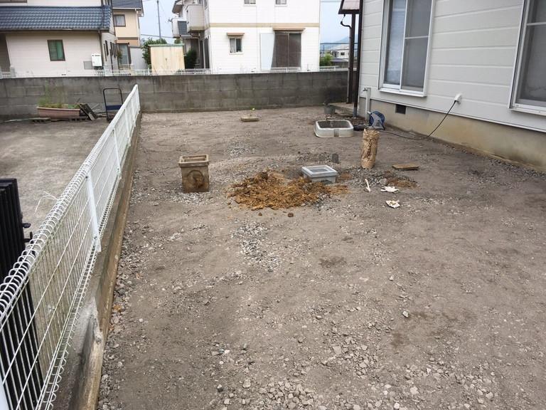 土間コンクリート1
