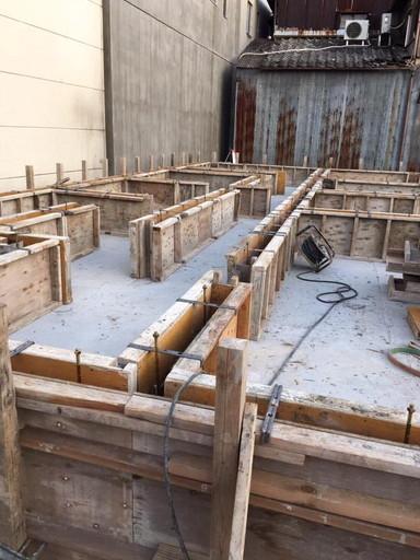 新築基礎工事3